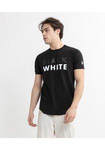 Beşiktaş Black-White T-Shirt Herren 7020105