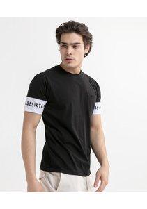 Beşiktaş Sleeve Print T-Shirt Pour Hommes 7020110