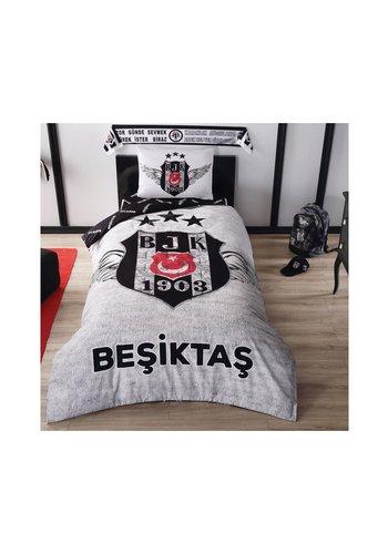 Beşiktaş Set De Literie Simple BRF Grey