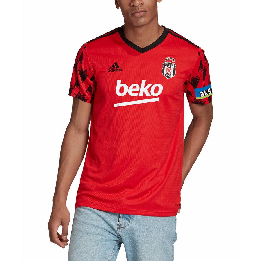 adidas Beşiktaş Trikot Rot 20-21