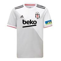 adidas Beşiktaş Kindershirt Wit 20-21