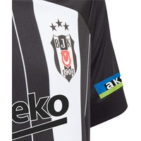 adidas Beşiktaş Kindertrikot Gestreift 20-21