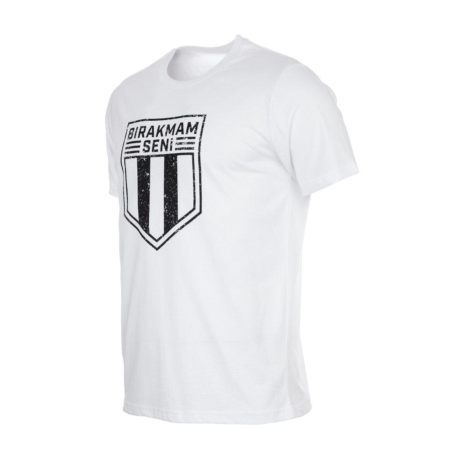Beşiktaş 'Bırakmam Seni' T-Shirt Wit