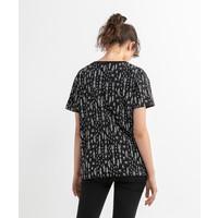Beşiktaş Feather All Over T-Shirt Dames 8020132 Zwart