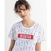 Beşiktaş Womens Feather All Over T-Shirt 8020132 White