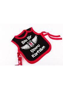 Beşiktaş Baby Slabbetje K19-135 Zwart