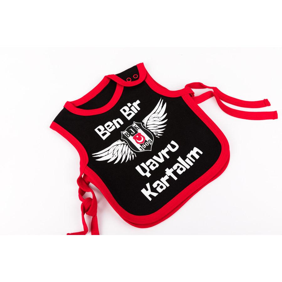 Beşiktaş Bavette Bébé K19-135 Noir