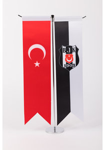 Beşiktaş BJK B560 MASA BAYRAK 8*32
