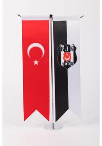 Beşiktaş BJK B560 Table Flag 8*32