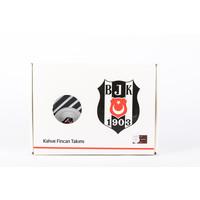Beşiktaş Tweedelig porselein koffieset