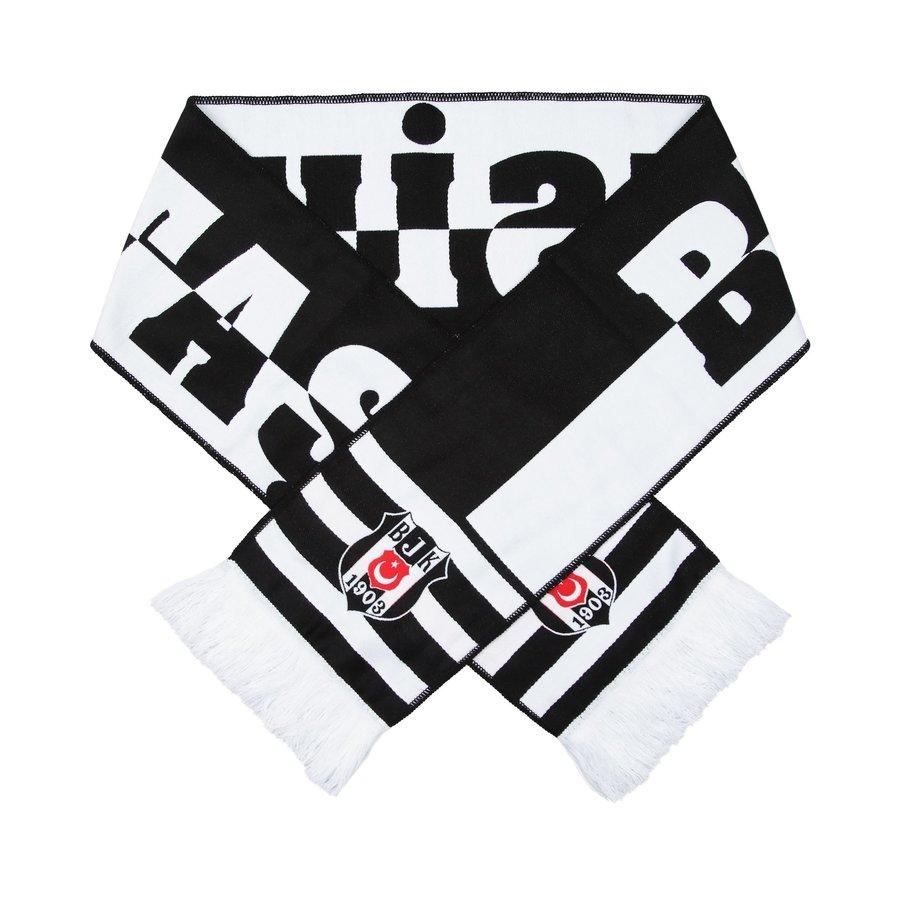 Beşiktaş Woven Scarf 03 Black Unisex