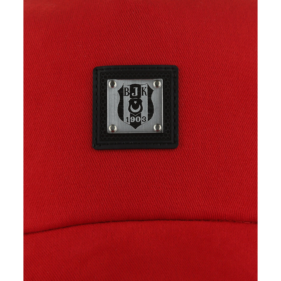 Beşiktaş Metallic Logo Pet 09 Rood