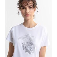 Beşiktaş Eagle Sketch T-Shirt Dames 8020135
