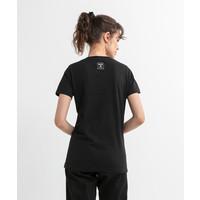 Beşiktaş Eagle Sketch T-Shirt Dames 8020135 Zwart