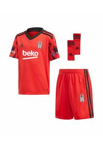 adidas Beşiktaş Mini Shirtset Rot 20-21