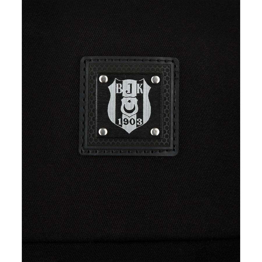 Beşiktaş Casquette Logo Métallique 09 Noir