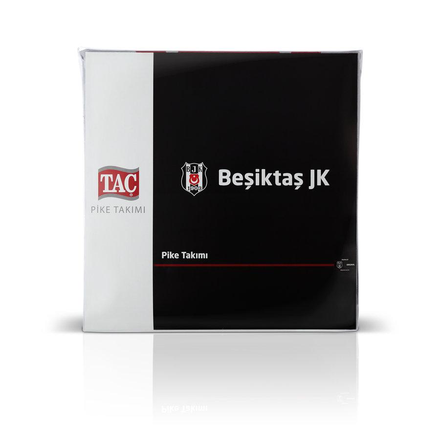 Beşiktaş Bettüberwurf Black and White