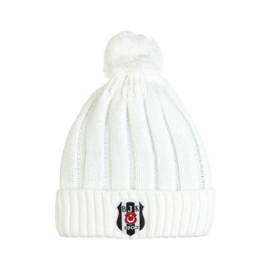 Beşiktaş Bonnet 01 Blanc pour Femmes