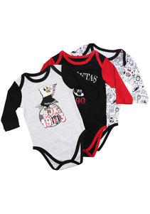 Beşiktaş Baby Body Set Lange Mouwen K20-102
