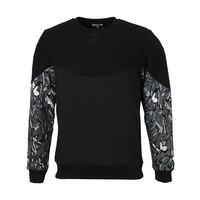 Beşiktaş Feather Sleeve Print Sweater Pour Hommes 7021202