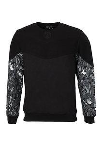 Beşiktaş Mens Feather Sleeve Print Sweater 7021202