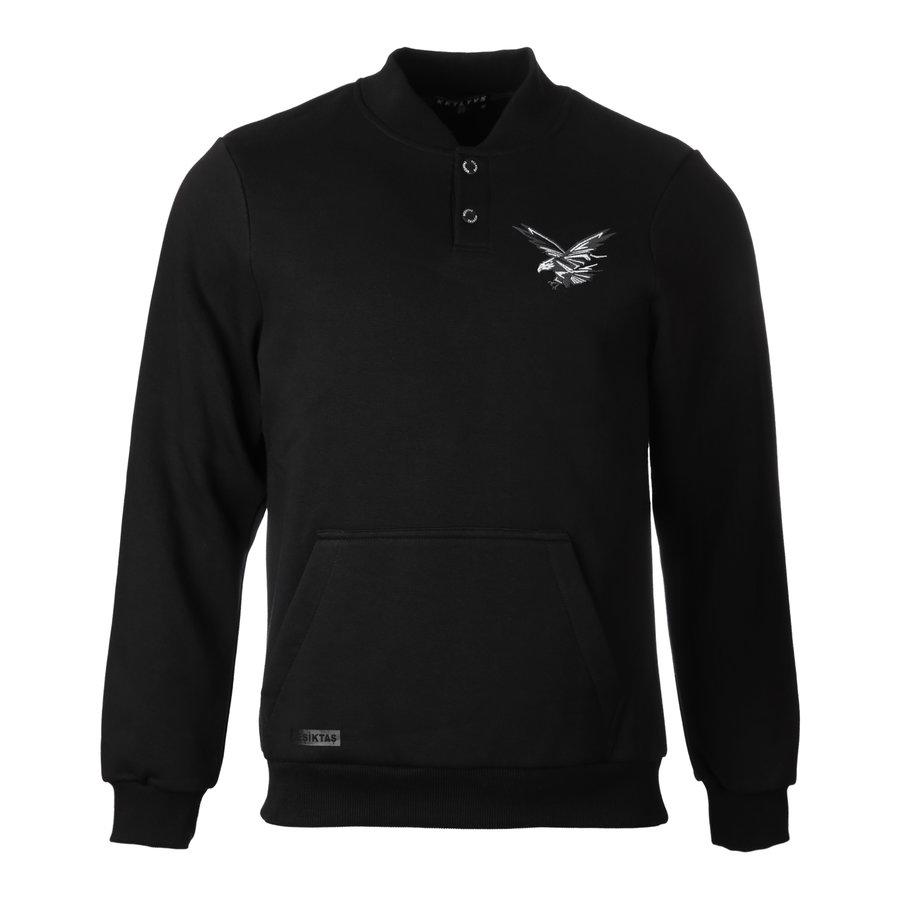 Beşiktaş Snapcollar Sweater Heren 7021208