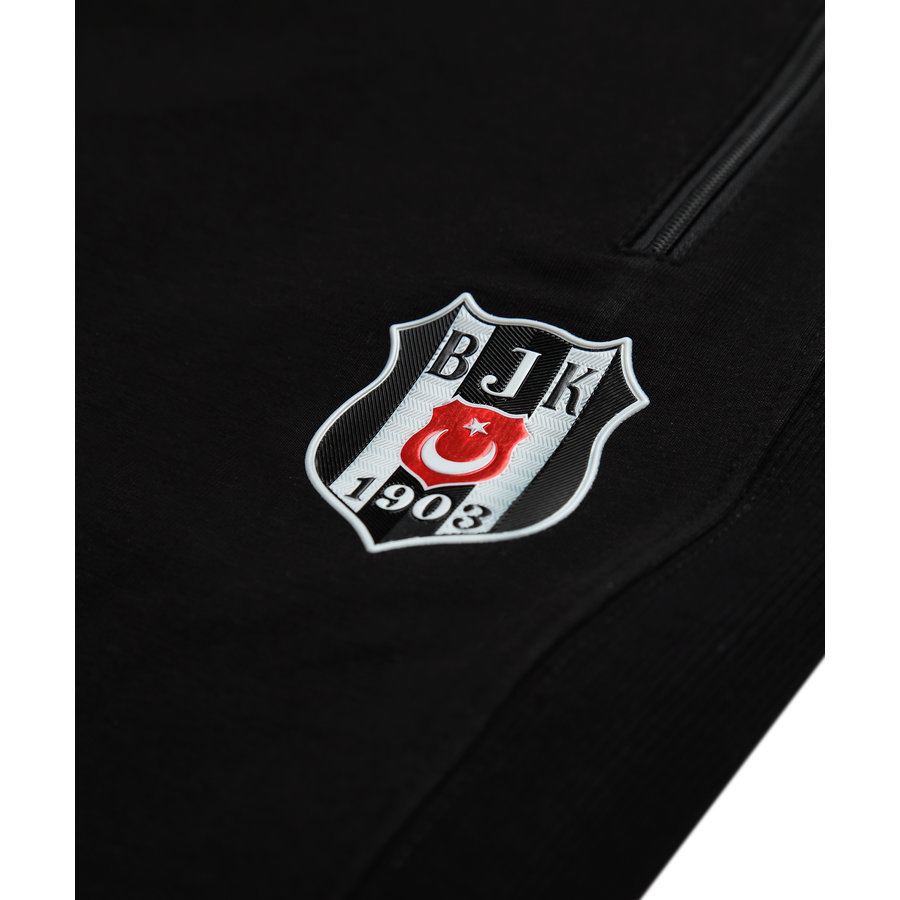 Beşiktaş Mens Side Ribana Training Pants 7021402 Black