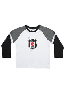 Beşiktaş T-Shirt Lange Mouwen Kinderen K20-139