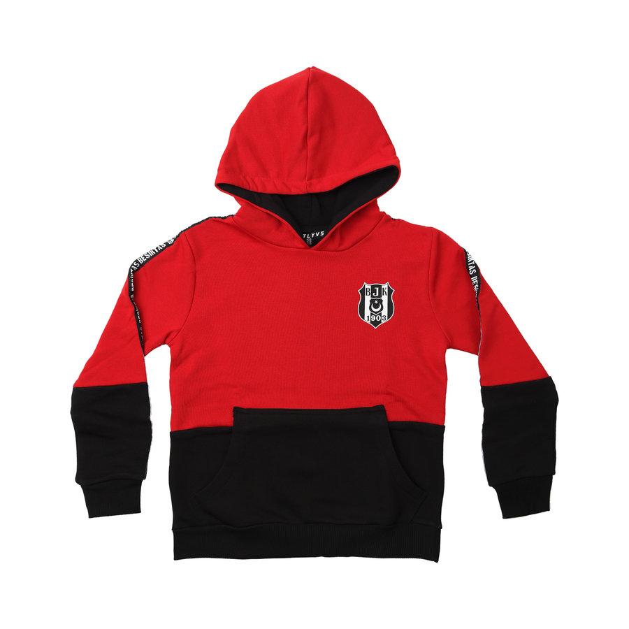 Beşiktaş Kids Colorblock Hooded Sweater 6021216