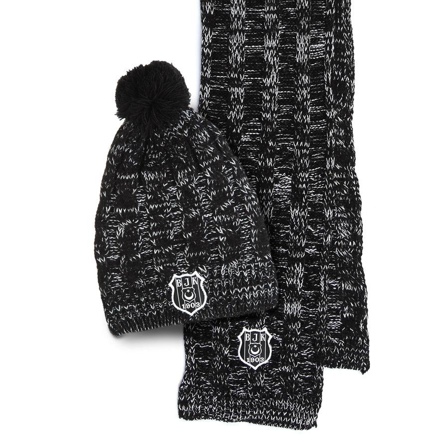 Beşiktaş Kids Set Scarf Hat 06