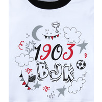 Beşiktaş Baby Body Korte Mouwen Y20-108 Wit