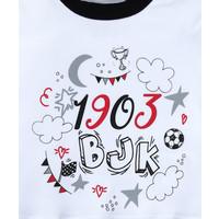 Beşiktaş Short Sleeved Baby Body Y20-108 White