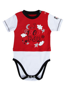 Beşiktaş Short Sleeved Baby Body Y20-108 Red