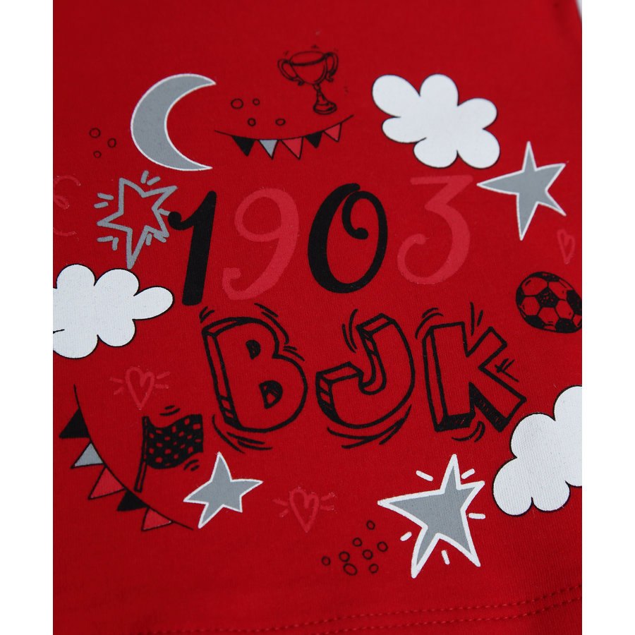 Beşiktaş Short Sleeved Baby Body Y20-108 Red