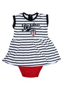 Beşiktaş Meisjes Baby Body Korte Mouwen Y20-110 Wit