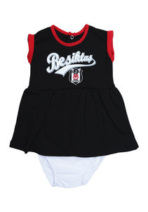 Beşiktaş Girls Baby Short Sleeved Body Y20-110 Black