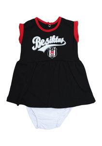 Beşiktaş Meisjes Baby Body Korte Mouwen Y20-110 Zwart
