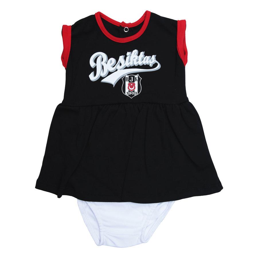 Beşiktaş Mädchen Baby Kurzarmbody Y20-110 Schwarz