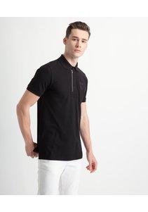 Beşiktaş Polo T-Shirt mit Reissverschlus Herren 7818156 Schwarz
