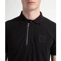 Beşiktaş Polo T-Shirt avec fermeture éclair pour Hommes 7818156 Noir