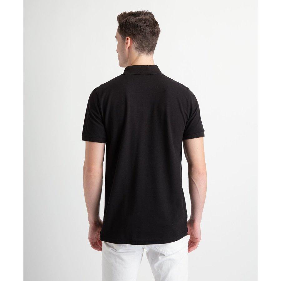 Beşiktaş Polo T-Shirt met Rits Heren 7818156 Zwart