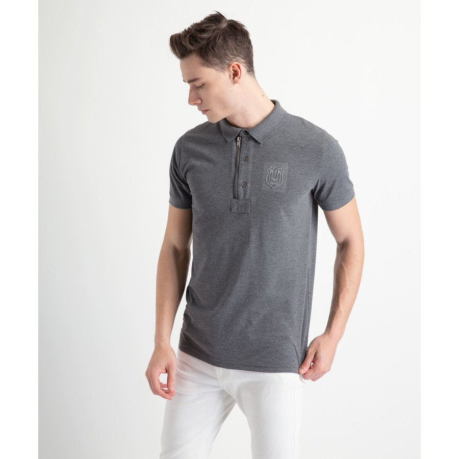 Beşiktaş Polo T-Shirt met Rits Heren 7818156