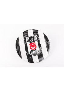 Beşiktaş Gelicenseerd Papieren  Bord 23 cm - 8 st