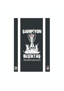 Beşiktaş 2020-2021 Meisterschafts - Fahne 200*300