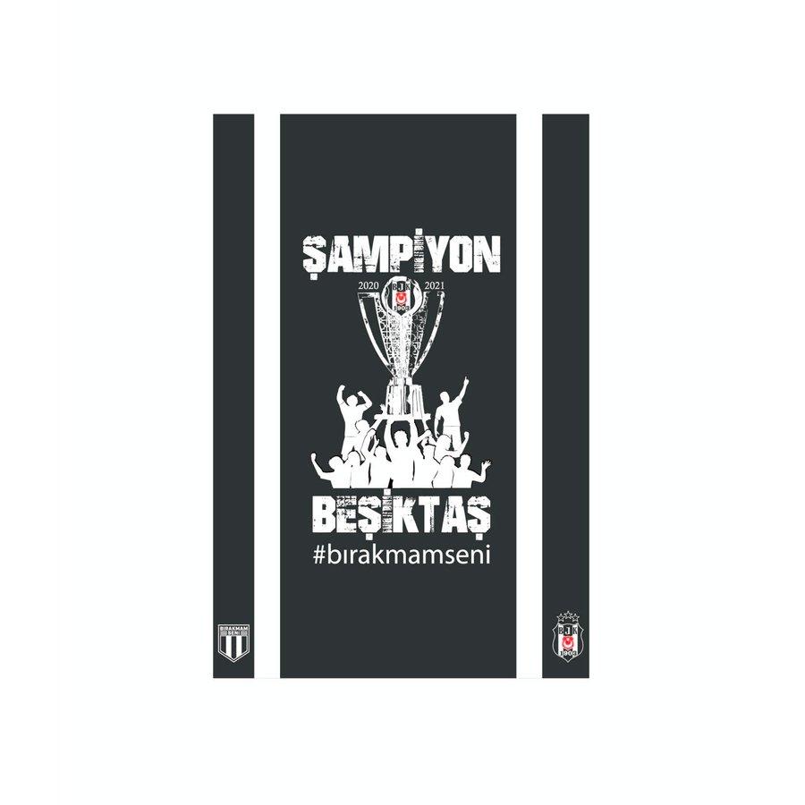 Beşiktaş Drapeau Championnat 2020-2021 200*300