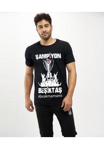 Beşiktaş 2020-2021 Kampioenschap T-Shirt