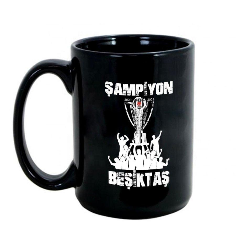 Beşiktaş 2020-2021 Meisterschaft Becher