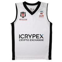 Beşiktaş Basketbal Kindershirt Wit 20-21