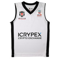 Beşiktaş Kids Basketball Shirt White 20-21