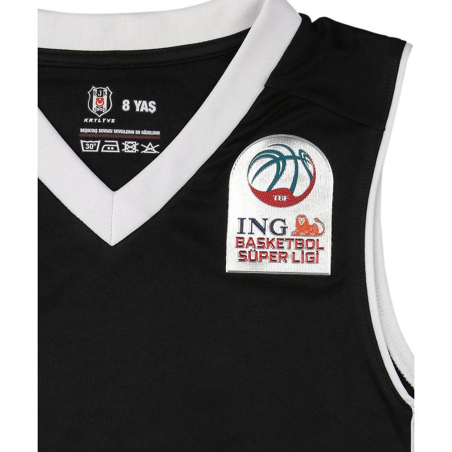 Beşiktaş Kids Basketball Shirt Black 20-21